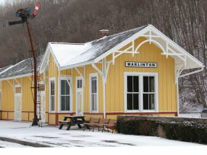 The Rebuild Marlinton Task Force discussed the status of the Marlinton Rail Depot during its meeting on February 24.