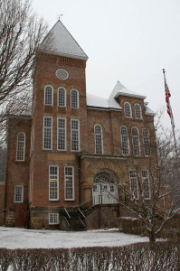 The Pocahontas County Courthouse in Marlinton.