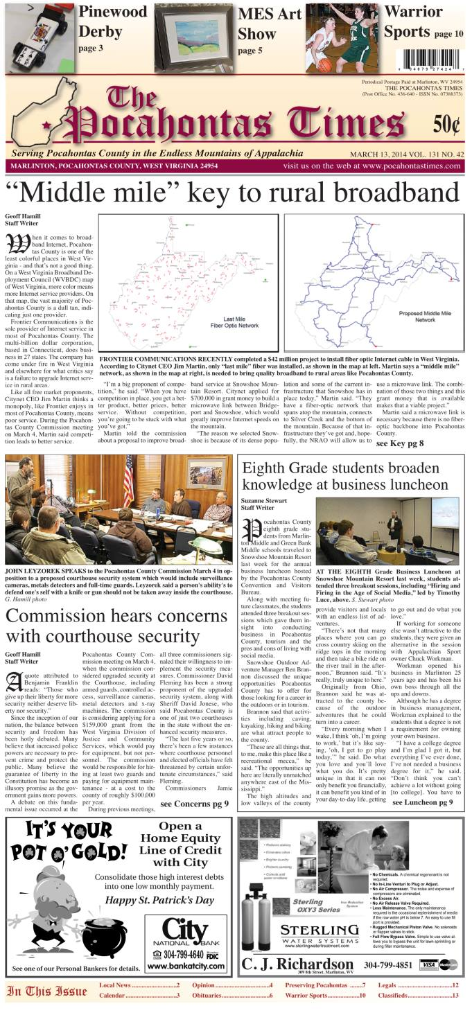 eTimes March 13, 2014