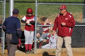 Coach Rick Hartzell leads his Lady Warriors into the playoffs at Pendleton County on Thursday at 4:30 p.m.