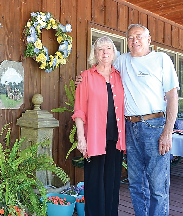 Morning Glory Inn bed and breakfast owners Karin Anderson and Rod Molidor recently received awards from two travel-related websites. The couple opened the inn, located near Snowshoe, in 1998. S. Stewart photo