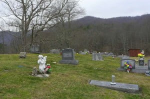 Sharp Cemetery at Stamping Creek