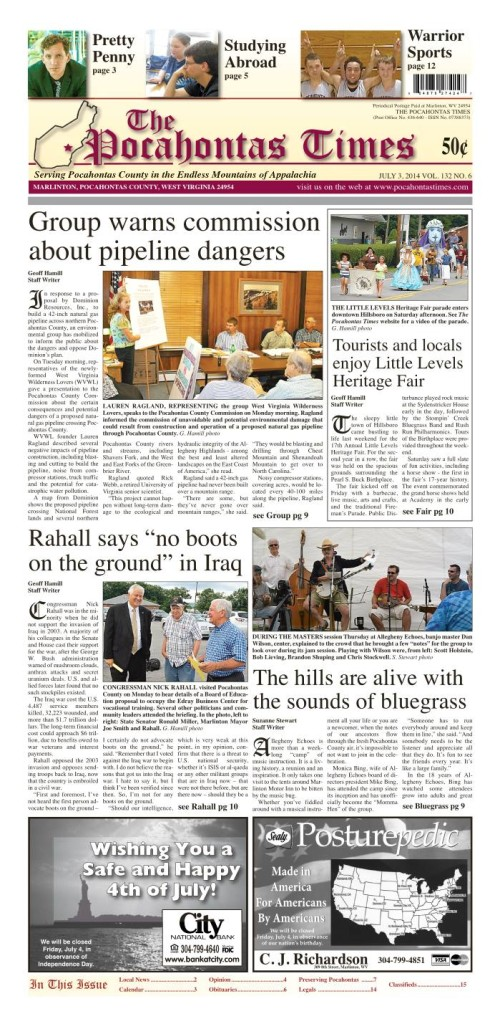 eTimes for July 3, 2014