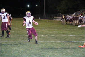 Jimmy Campbell scores a TD Friday night in Richwood.
