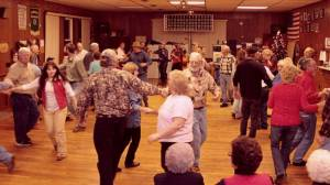 A large crowd attended a square dance at the Dunmore Community Center on Saturday night. Square dancing is gaining in popularity, due in part to support from groups like Pocahontas County Parks and Recreation. Dunmore Community Center is a multi-county focal point for traditional music and dance.