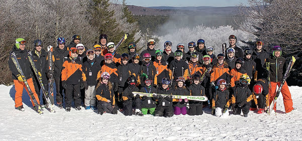 Snowshoe Ski and Snowboard Team has members ages six to 18 who race in competitions at ski resorts throughout the east coast during the winter season.
