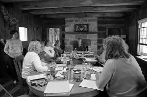 """Women from across the Appalachian region traveled to the Pearl S. Buck Birthplace to partake in the final Pearl S. Buck Creative Writing Workshop of the year. The workshop was led by Sherrell Wigal, of Parkersburg, and focused on """"The Gateway between Your Story and Your Self."""""""