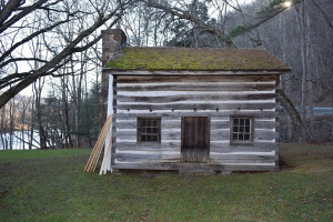 The Kee Cabin, now located on the grounds of the Pocahontas County Historical Society Musuem, built sometime between 1835 and 1840, has been added to the Historic Timbers Project list for next summer.