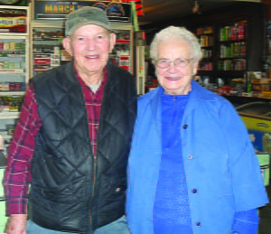 Ebbie and Betty Mullenax have been friends to the community of Arbovale, and longtime fixtures at Trent's General Store. As fromer owners, they worked 12-hour days. They've cut that back to five hours a day, but still six days a week.