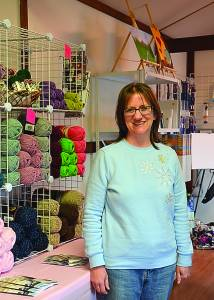CRAFT SUPPLIES CLOSE to home – that's what Melissa Totten offers. Melissa's Knit and Hobby Shop is now open at Burton's Enterprises in Hillsboro. Go no further for yarn, embroidery thread, art supplies and more. C. D. Moore photo