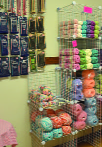MELISSA'S KNIT AND Hobby Shop, located in Hillsboro, has an wide selection of yarn in all weights and colors, as well as crochet hooks, and circular and straight knitting needles. C. D. Moore photo