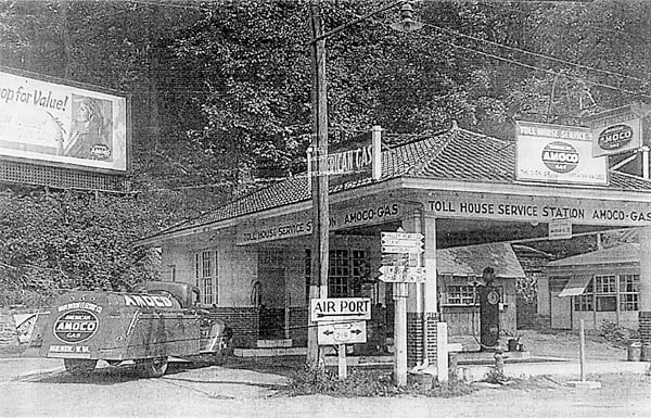 As a young boy, Keith Moore would hang out at the Toll House Service Station, which was located at the intersection of Routes 219 and 39, now the site of Little General. Moore said the men who worked there would pay him to cuss the customers. The men would also pull pranks on Moore.