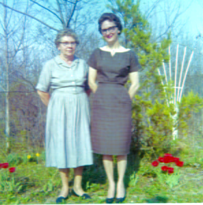 NEVAWILFONG, LEFT, and her daughter, Mary Lou Dilley, were part of a long and hospitable tradition in this county - offering visiting hunters a home away from home. Long before camper trailers and permanent camps came into vogue, hunters became part of the family as they spent hunting season after hunting season in homes in Pocahontas County.
