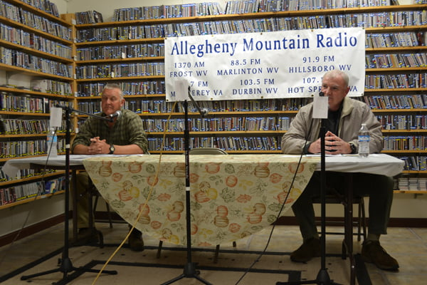 Pocahontas County Sheriff candidates, from left: Jeff Barlow and Troy McCoy.