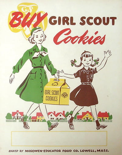 THISYEARMARKS the 100th anniversary of Girl Scout Cookies. Originally baked and sold from home kitchens, this fundraiser has grown by leaps and bounds from the first sugar cookies. This year, 2.3 million Girl Scouts across the United States will take orders for approximately 200 million boxes of Thin Mints, Tagalongs and 10 other varieties.