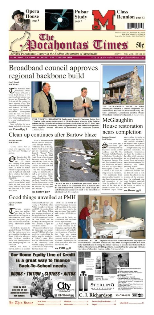 eTimes for July 31, 3014